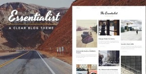 Read more about the article Essentialist 1.3.1 – A Narrative WordPress Blog Theme