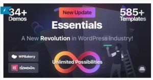 Read more about the article Essentials 2.0.5 Nulled – Multipurpose WordPress Theme