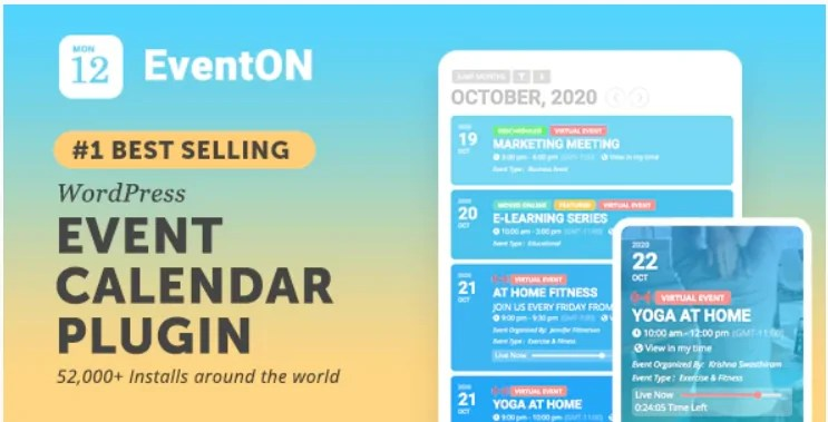 You are currently viewing EventON 4.0 Nulled – WordPress Event Calendar Plugin