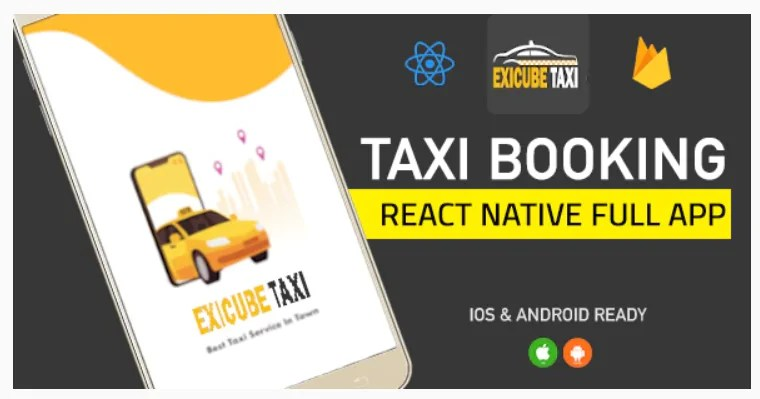 You are currently viewing Exicube Taxi App 1.4.0 ( GrabCab ) + iOS + Android + Web + Admin