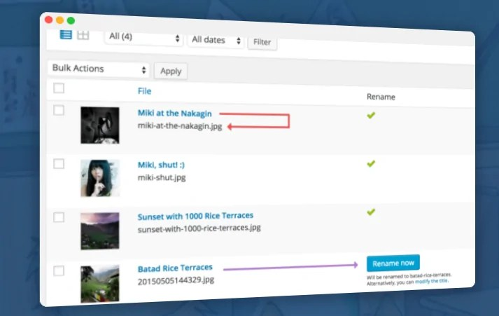 You are currently viewing Media File Renamer Pro 5.2.7 NULLED – Rename WordPress Files