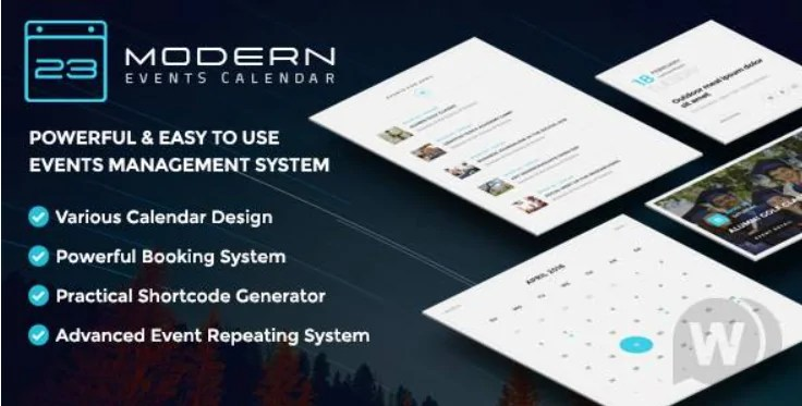 You are currently viewing Modern Events Calendar Pro 5.21.2 + Addons – WordPress Events Calendar