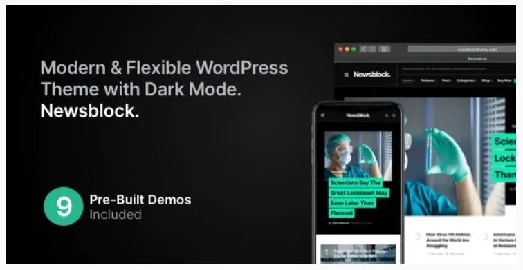 You are currently viewing Newsblock 1.1.6 Nulled – News & Magazine WordPress Theme with Dark Mode