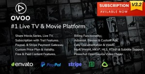 Read more about the article OVOO 3.2.9 NULLED – Live TV Portal CMS with Membership System