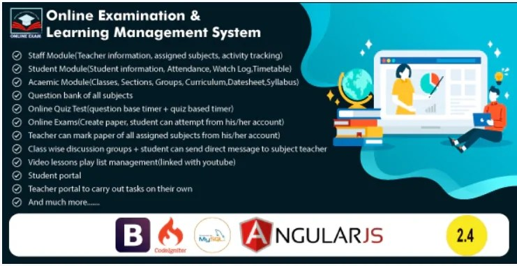 You are currently viewing Online Exam and Learning Management System 2.5 NULLED
