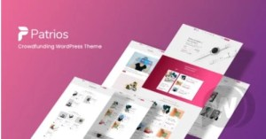 Read more about the article Patrios 1.1.6 – Fundraising WordPress Theme