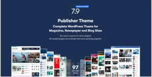 Read more about the article Publisher 7.11.0 NULLED – WordPress News Template