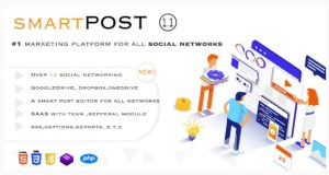 Read more about the article Smart Post 1.5 Nulled – Social Marketing Tool