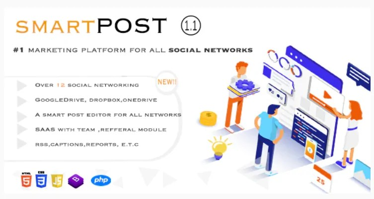 You are currently viewing Smart Post 1.5 Nulled – Social Marketing Tool