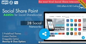 Read more about the article Social Share Point AddOn 1.1 – WordPress Plugin