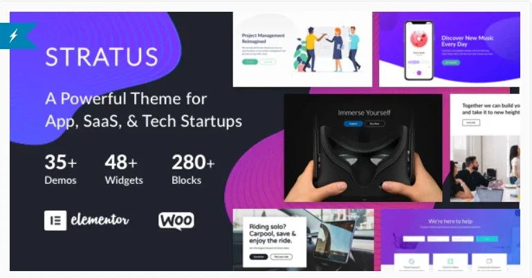 You are currently viewing Stratus 4.1.3 – App, SaaS & Software Startup Tech Theme