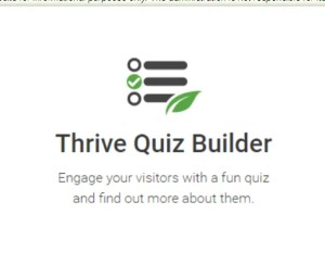 Read more about the article Thrive Quiz Builder 2.3.9.4 NULLED – WordPress Polls And Quizzes Plugin