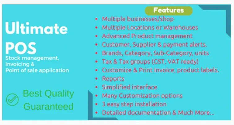 Read more about the article Ultimate POS 4.5 Nulled – Best Advanced Stock Management, Point of Sale & Invoicing application