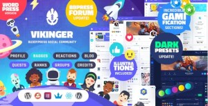 Read more about the article Vikinger 1.9.0 – BuddyPress and GamiPress Social Community