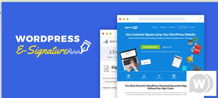 You are currently viewing WP E-Signature 1.6.1 NULLED – Digital Signature For WordPress