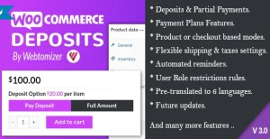 Read more about the article WooCommerce Deposits 3.0.3 – Partial Payments Plugin