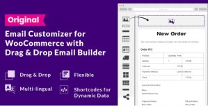 Read more about the article WooCommerce Email Customizer with Drag and Drop Email Builder 1.5.16