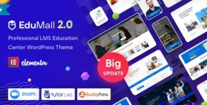 Read more about the article EduMall 2.7.0 NULLED – LMS WordPress Theme