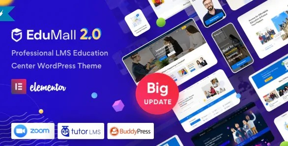 You are currently viewing EduMall 2.7.0 NULLED – LMS WordPress Theme