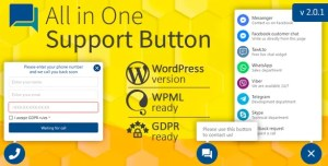 Read more about the article All in One Support Button 2.1.7 NULLED