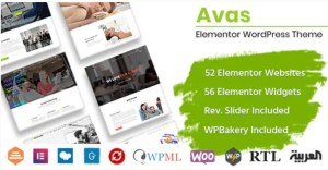 Read more about the article Avas 6.3.0.3 NULLED – Multipurpose WordPress Theme