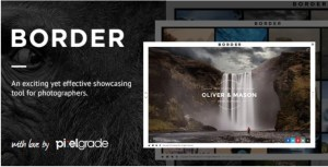Read more about the article BORDER 1.9.3 Nulled – A Delightful Photography WordPress Theme