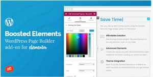 Read more about the article Boosted Elements 4.3 – WordPress Page Builder Add-on for Elementor