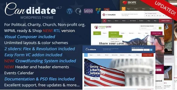 You are currently viewing Candidate 6.7 NULLED – Political/Nonprofit/Church WordPress Theme