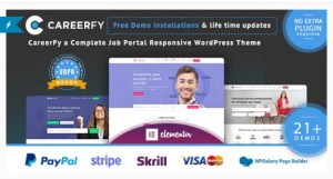 Read more about the article Careerfy 7.1.0 – Job Board WordPress Theme