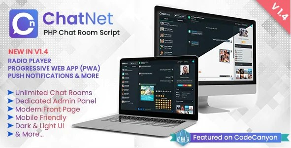 You are currently viewing ChatNet 1.7.0 NULLED – PHP Chat Room & Private Chat Script