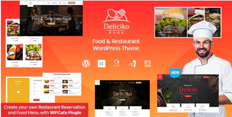 You are currently viewing Deliciko 2.0.1 – Restaurant WordPress Theme