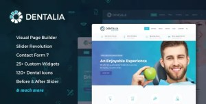 Read more about the article Dentalia 2.1 – Dentist & Medical WordPress Theme
