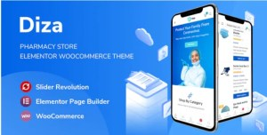 Read more about the article Diza 1.1.5 – Pharmacy Store Elementor WooCommerce Theme