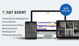 Read more about the article FAT Event 4.9 – WordPress Event and Calendar Booking