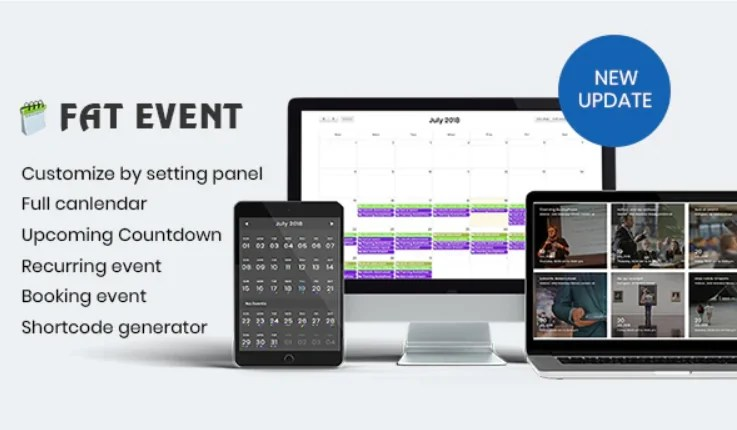 You are currently viewing FAT Event 4.9 – WordPress Event and Calendar Booking