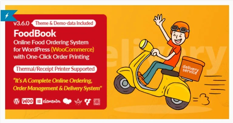 You are currently viewing FoodBook 4.0.1 Nulled – Online Food Ordering & Delivery System for WordPress