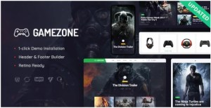 Read more about the article Gamezone 1.1.1 Nulled – Video Gaming Blog & Esports Store WordPress Theme