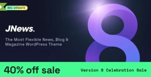 Read more about the article JNews 9.0.4 NULLED – Newspaper Magazine Blog AMP WP Theme
