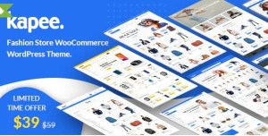 Read more about the article Kapee 1.3.10 NULLED – Modern Multipurpose WooCommerce Theme