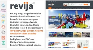 Read more about the article Revija 3.5 NULLED – Blog/Magazine WordPress Theme