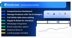 Read more about the article StoreGo SaaS 1.6.0 Nulled – Online Store Builder
