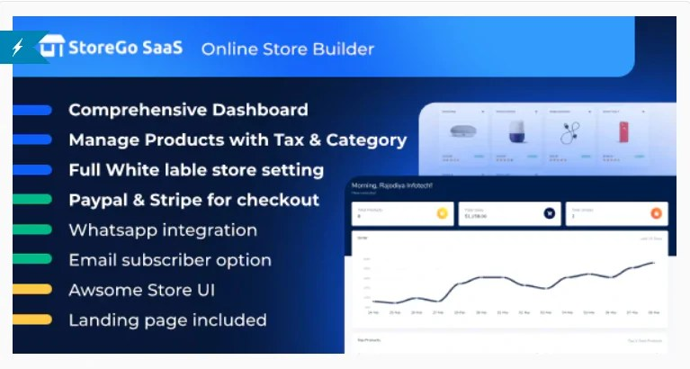 You are currently viewing StoreGo SaaS 1.6.0 Nulled – Online Store Builder