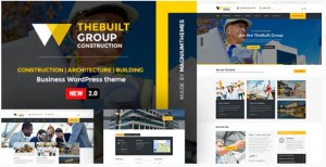 Read more about the article TheBuilt 2.3.2 Nulled – Construction and Architecture WordPress theme