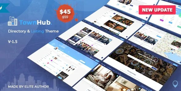 You are currently viewing TownHub 1.6.4 – Directory & Listing WordPress Theme