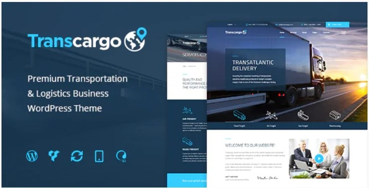 You are currently viewing Transcargo 2.6 – Transportation WordPress Theme for Logistics