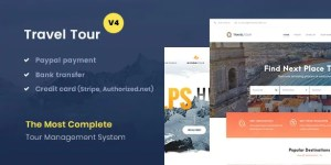 Read more about the article Travel Tour 4.2.6 – Travel & Tour Booking WordPress