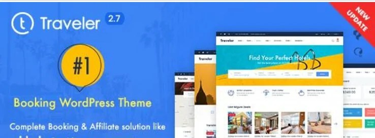 You are currently viewing Traveler 2.9.6 NULLED – Template For Travel Site On WordPress