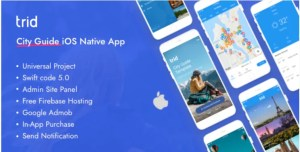 Read more about the article Trid 1.3.1 – City Travel Guide iOS Native with Admin Panel, Firebase