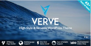 Read more about the article Verve 5.1 Nulled – High-Style WordPress Theme
