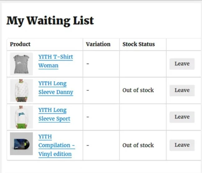 You are currently viewing YITH WooCommerce Waiting List Premium 1.9.6